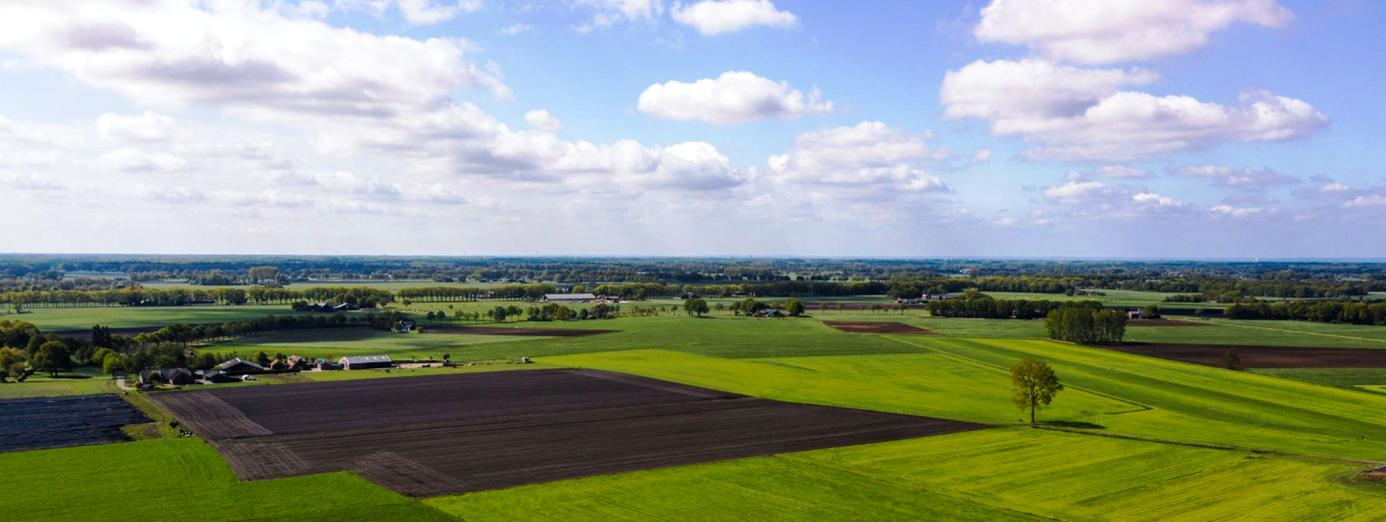 Agrarisch landschap van Salland. Foto: JMK Media